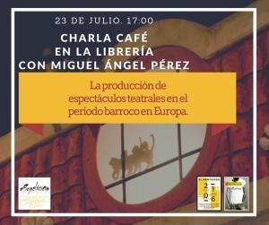 Promo charla producción El Mentidero 16 julio