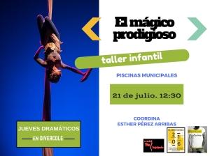 Promo Jueves Infantil El Mentidero 21 julio