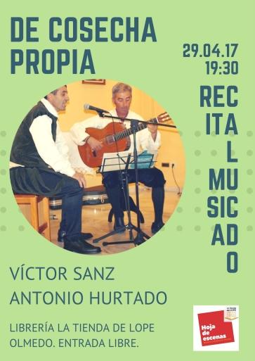 Recital Víctor Sanz