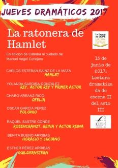 Reparto Hamlet jueves 2017
